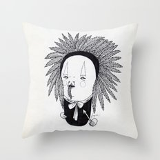 Apache Senior Throw Pillow