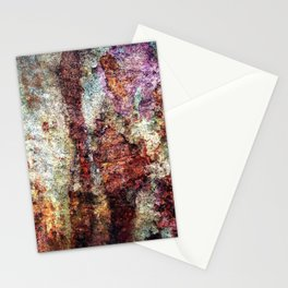 Multicolored Rust rustic decor Stationery Cards