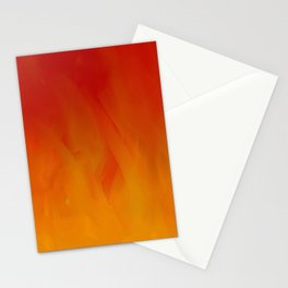 Flames of Gold Stationery Cards