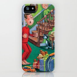 Santa Was Here! iPhone Case