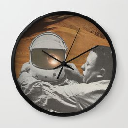 """""""The lonely"""" Wall Clock"""