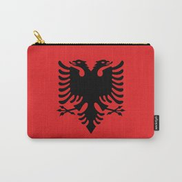 Flag of Albania - Authentic version Carry-All Pouch