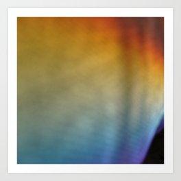 rainbow on a sunday 1 Art Print