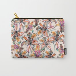 Floral Atmosphere Carry-All Pouch