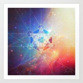 Box of the Universe Art Print