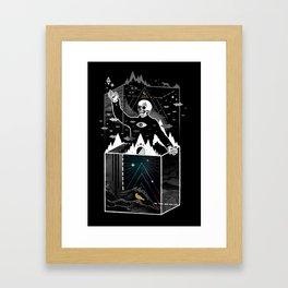 Existential Isolation Framed Art Print