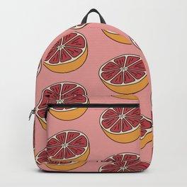 Blood Orange Citrus Summer days Backpack