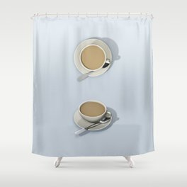 Wake me Gently Shower Curtain