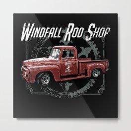 Windfall Rod Shop Metal Print