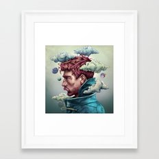 King of the Clouds Framed Art Print