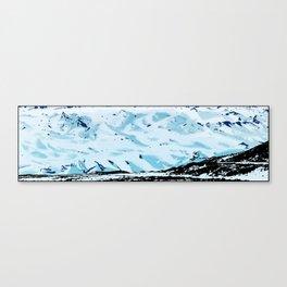 The glacier, Sólheimajökull Canvas Print