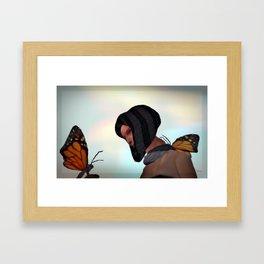 """""""Loving Wings"""" Framed Art Print"""