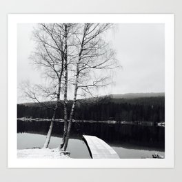 Norwegian Winter Art Print