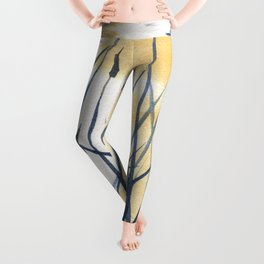 Dawn on the pond Leggings