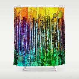 :: Cheers :: Shower Curtain
