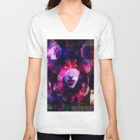 lydia martin V-neck T-shirts featuring Atomic Lydia. by echopunk