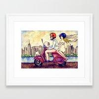 wedding Framed Art Prints featuring wedding! by Dilaraizm