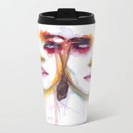Silence and Echo Metal Travel Mug