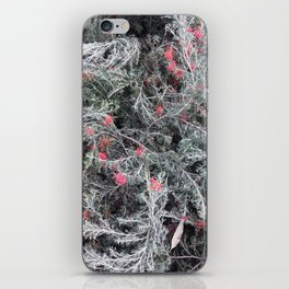 frosted flora iPhone Skin