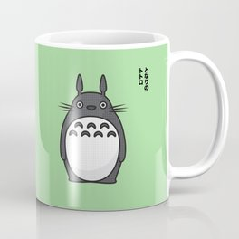 Totoro Pop Art - Green Version Coffee Mug