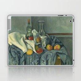 Paul Cézanne - The Peppermint Bottle Laptop & iPad Skin