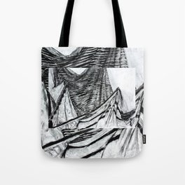 Double Drapery Drawing Tote Bag
