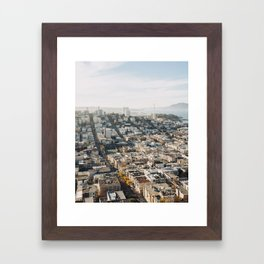 Fall in San Francisco Framed Art Print