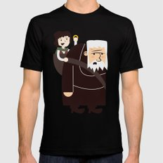 Ring Bearer Black Mens Fitted Tee MEDIUM