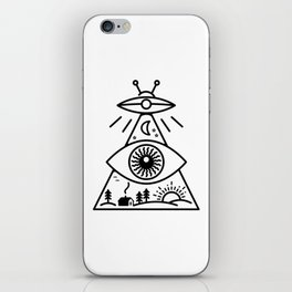 They Watch Us iPhone Skin