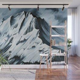 Grey Mountain Wall Mural