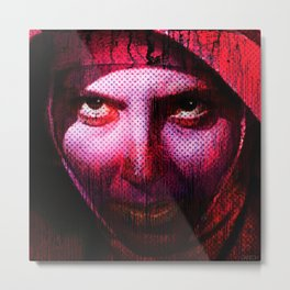 The miserable nun Metal Print