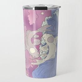 Moon and Ocean Spirts,Yin and Yang Travel Mug