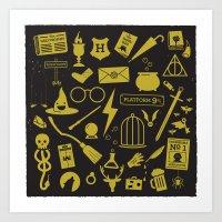 'Arry Pottah Art Print