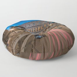 Colosseum at dawn Floor Pillow
