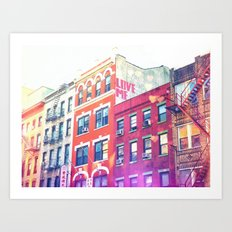 NYC Love Art Print
