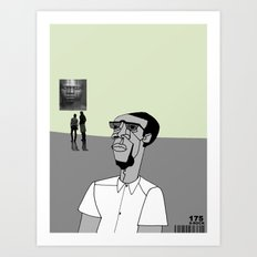 1001 Black Men--#175 Art Print