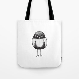 Grumpy Burrowing Owl Sketch Tote Bag