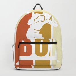 Boxing - vintage boxer Backpack