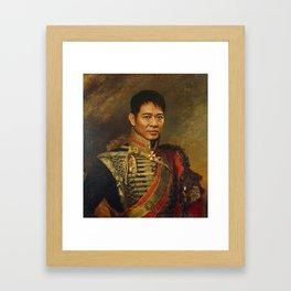 Jet Li - replaceface Framed Art Print