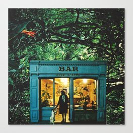 BAR - square version Canvas Print