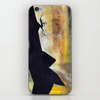 mirror iPhone & iPod Skins featuring mirror by Andreas Derebucha