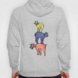 3 Billy Goats Up Hoody