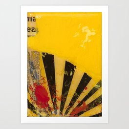 YELLOW5 Art Print