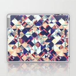 Geometric Grunge Pattern Laptop & iPad Skin