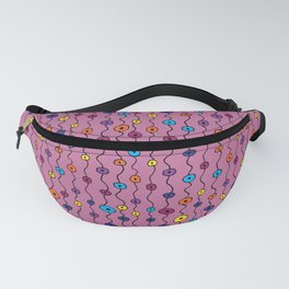 Electric Flower Buds Fanny Pack