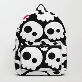 A skull in love Backpack