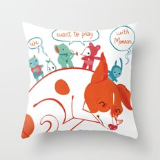 Morran Throw Pillow