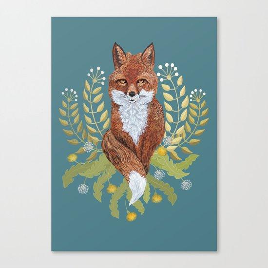 Fox Brown Canvas Print