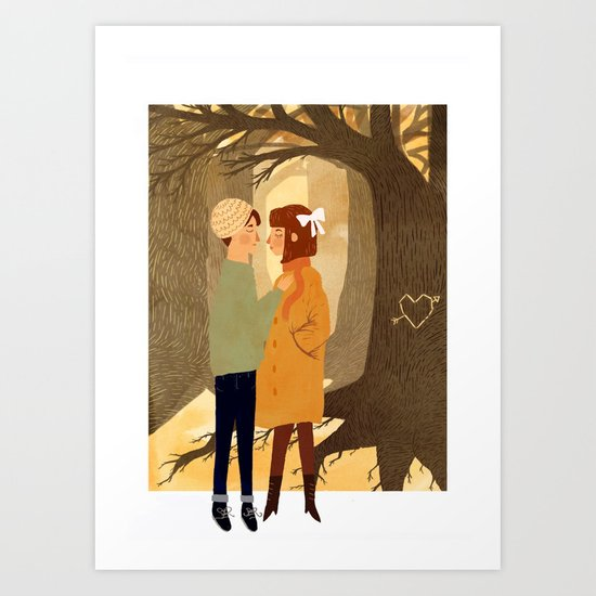 Oh, you are the roots that sleep beneath my feet and hold the earth in place. Art Print