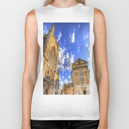 Bath Abbey And Roman Baths Biker Tank